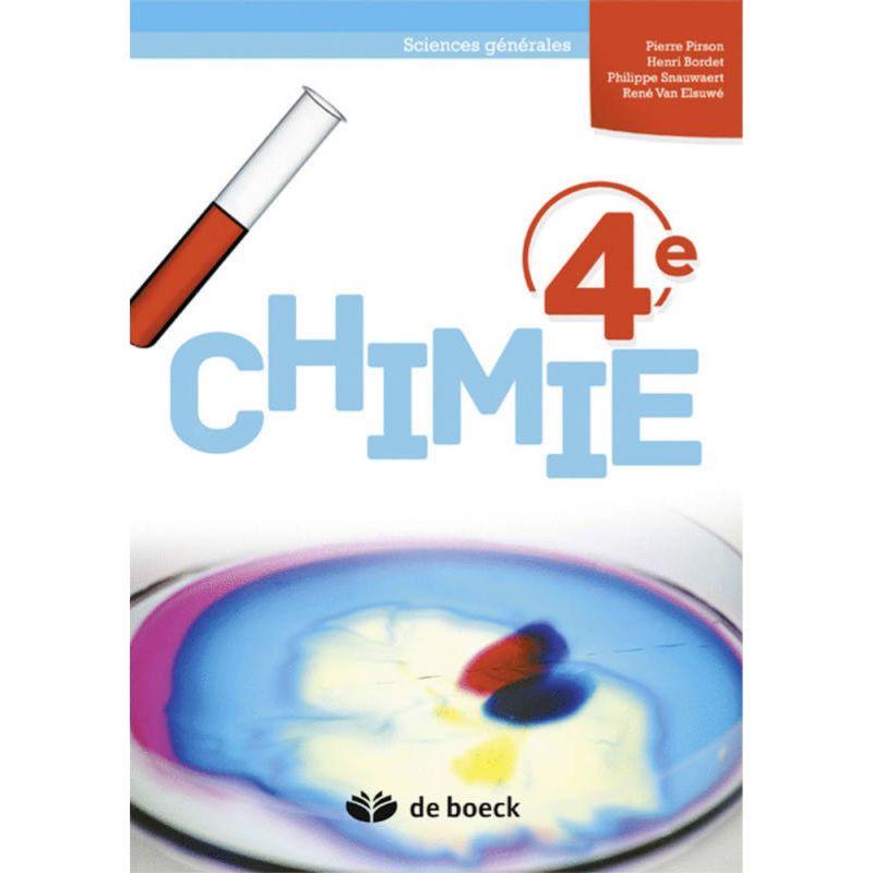Chimie 4e (Sciences générales) - Manuel