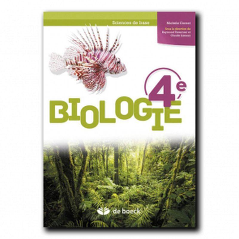 Biologie 4e (Sciences de base) - Manuel