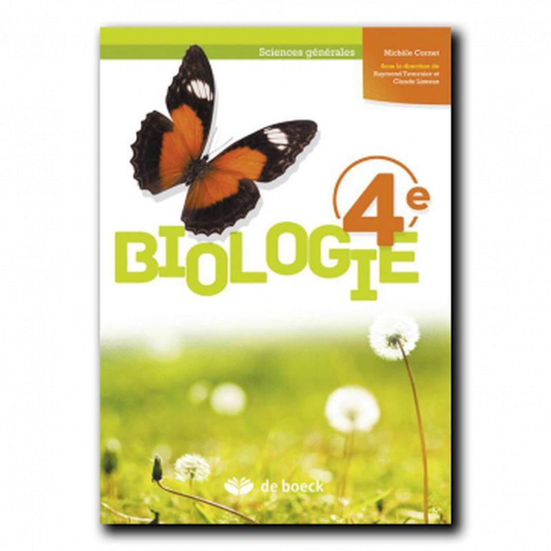 Biologie 4e (Sciences générales) - Manuel