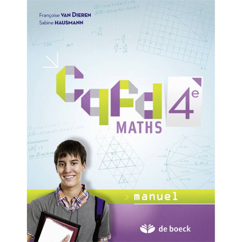 Cqfd Maths 4e - Manuel