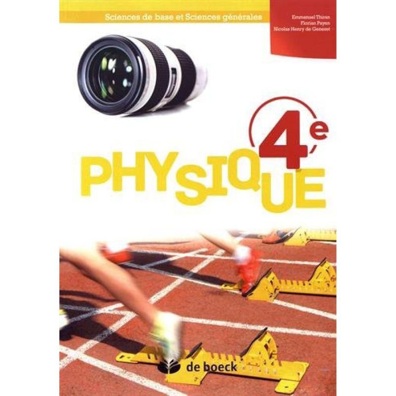 Physique 4e - Manuel