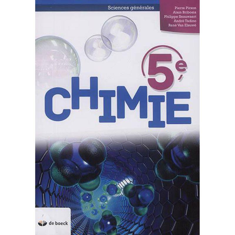 Chimie 5e - Manuel (2P/Semaine) (n.e.)