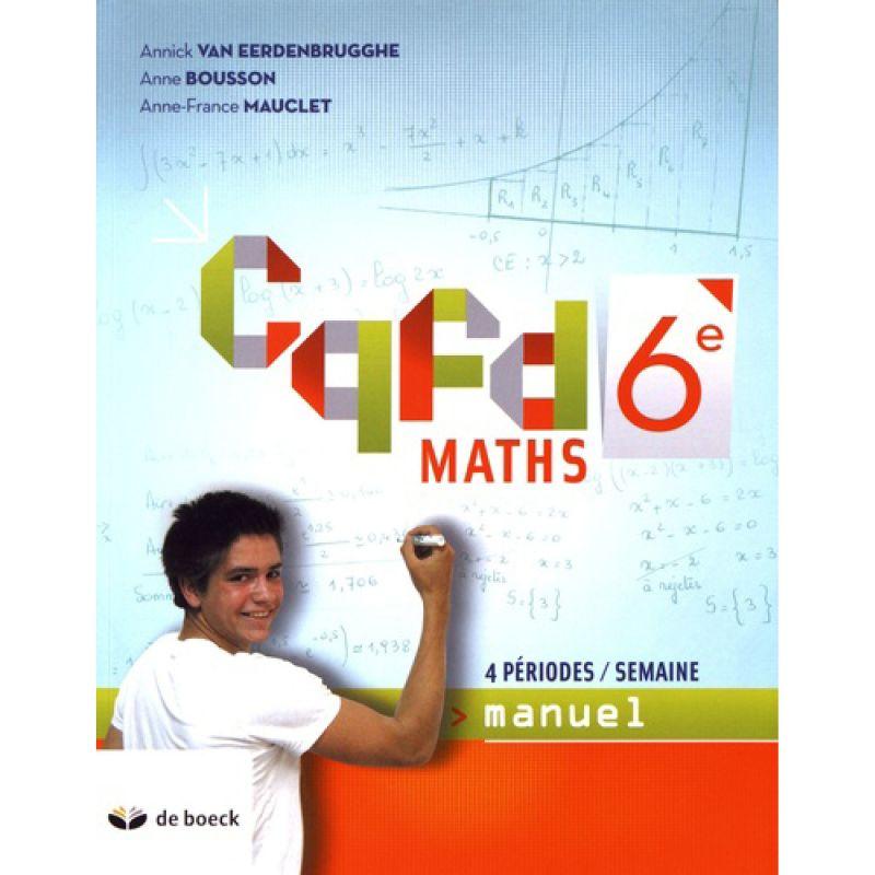 Cqfd Maths 6e (4pér./sem.) - manuel (ed.2018).