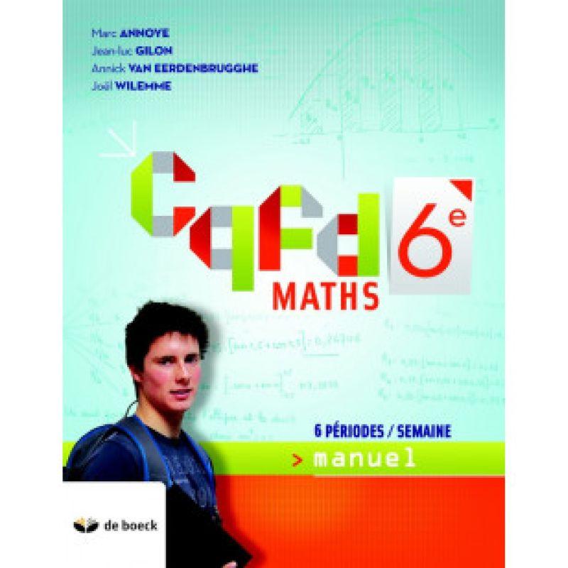 CQFD Maths 6e (6pér./sem.) - manuel (ed.2018)