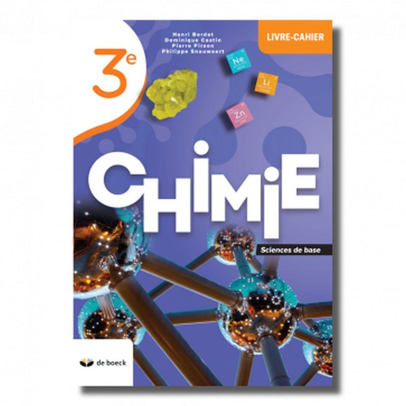 Chimie 3e (base) - Livre-cahier édition 2021