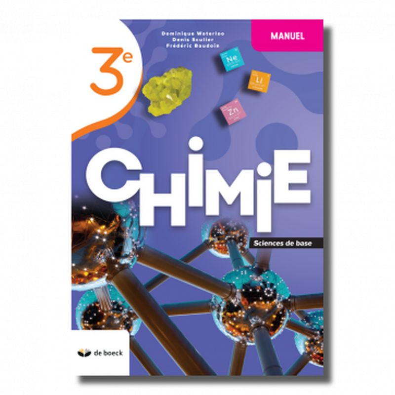 Chimie 3e (base) - Manuel édition 2021
