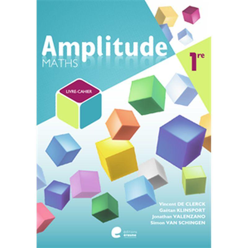 Amplitude 1re - livre eleve + cahier