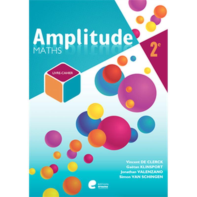 Amplitude 2eme livre eleve + cahier exercices