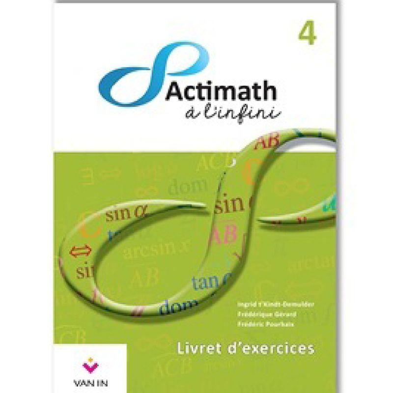 Actimath à l'infini 4- Livret d'exercices