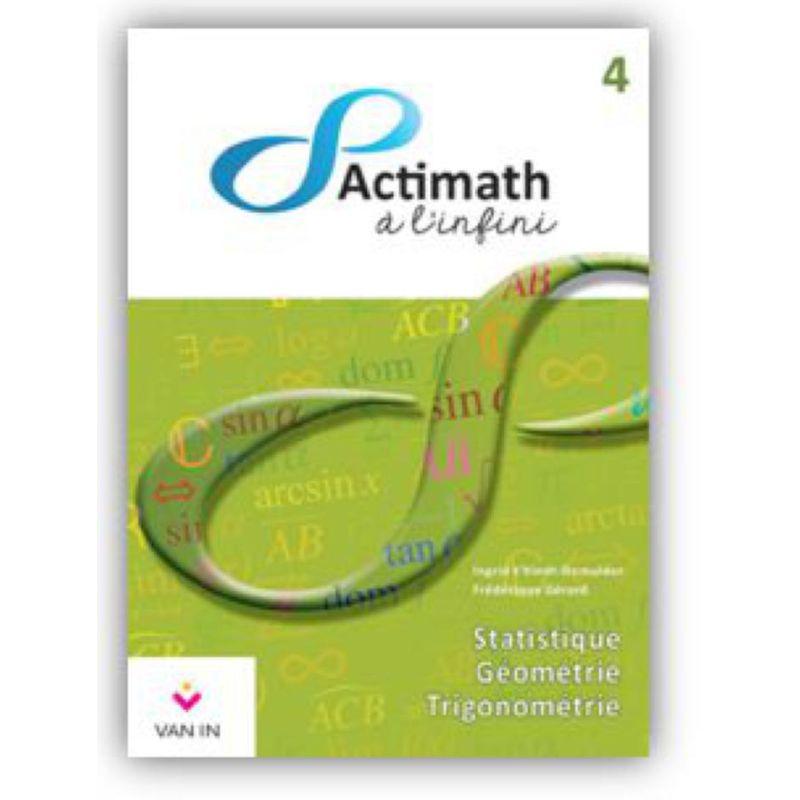 Actimath à l'infini 4 - Manuel