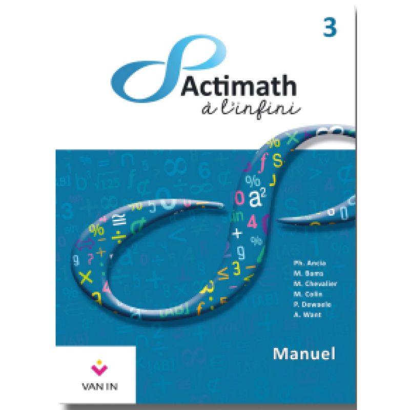 Actimath à l'infini 3 - Manuel