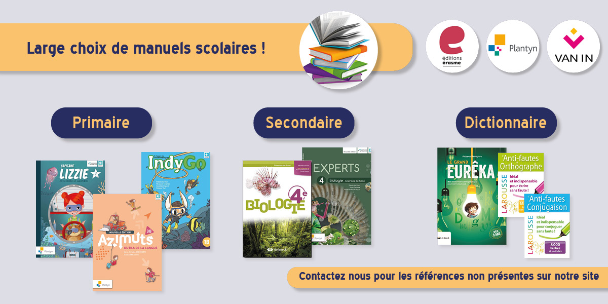 Nos manuels scolaires
